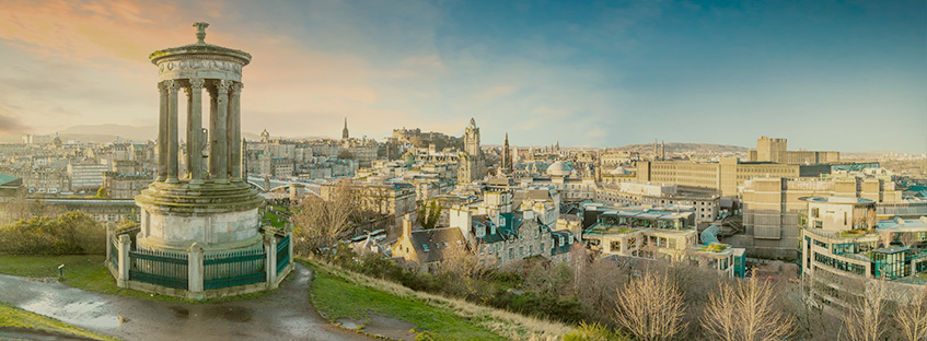 Edinburgh from Carlton Hill