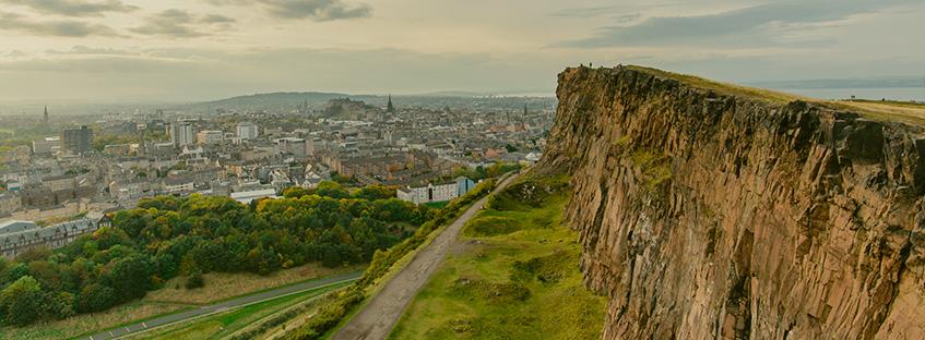 Edinburgh from Arthur Seat