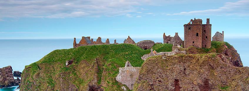 Dunnottar Castle Location