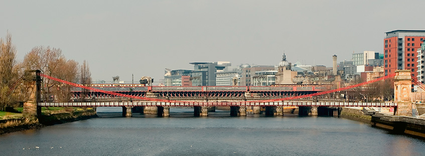 Clyde River in Glasgow
