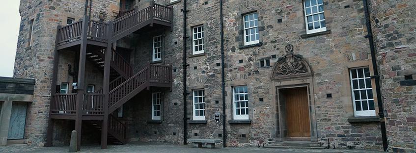 Royal palace in Edinburgh Castle