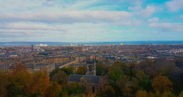 The weather in the Scottish capital – Edinburgh