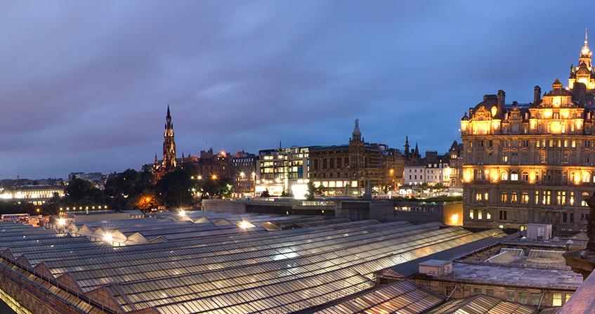 Alojamiento en Edimburgo